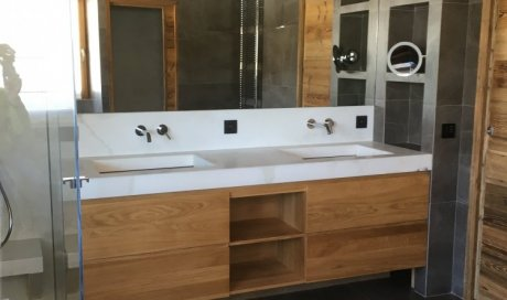 Menuisier pour meuble de salle de bain à Megève