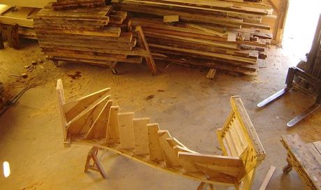 Escalier sur mesure Magland