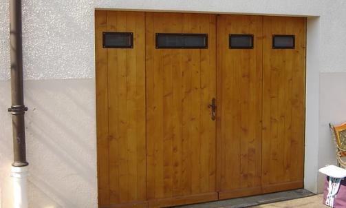 Porte de maison en bois sur mesure Magland